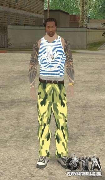 CJ VDV for GTA San Andreas second screenshot