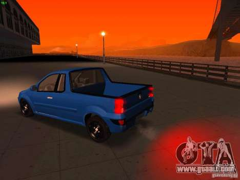 Nissan NP200 for GTA San Andreas right view