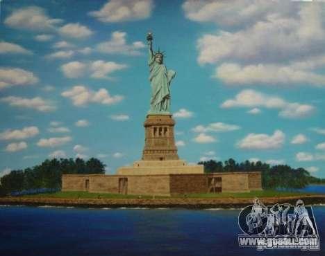 The Statue Of Liberty for GTA San Andreas third screenshot