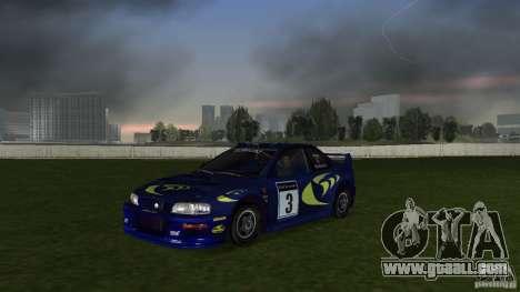 Subaru Impreza 22B Rally Edition for GTA Vice City