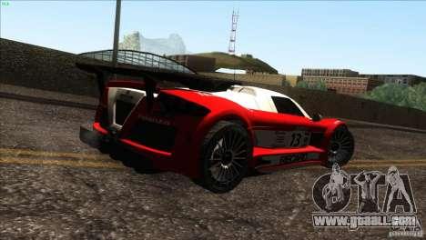 Gumpert Apollo for GTA San Andreas engine