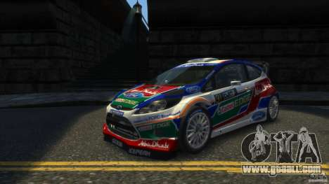 Ford Fiesta RS WRC for GTA 4