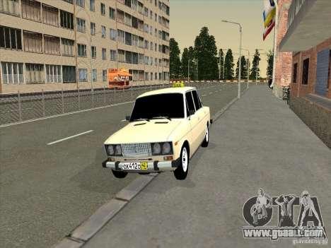 VAZ 2106 Taxi for GTA San Andreas