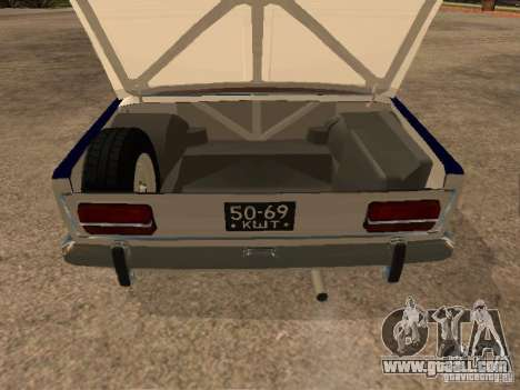 Vaz 2103 Police for GTA San Andreas inner view