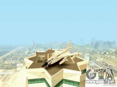 B-58 Hustler for GTA San Andreas left view