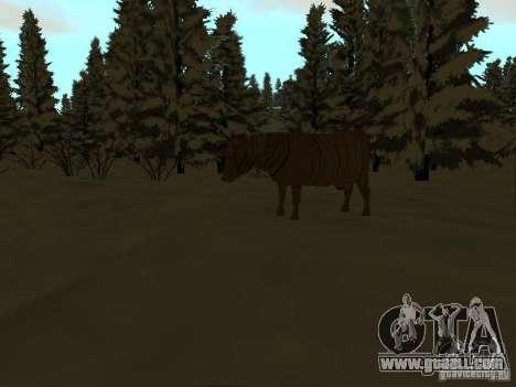 Winter Trail for GTA San Andreas ninth screenshot