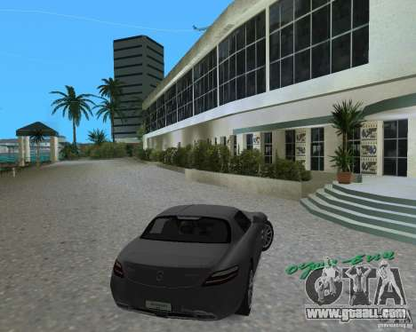 Mercedes Benz SLS AMG for GTA Vice City left view