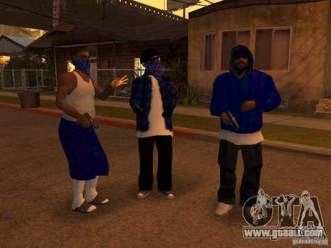 Crips Gang for GTA San Andreas