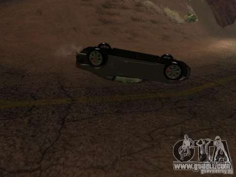 Overturned cars don't burn for GTA San Andreas fifth screenshot