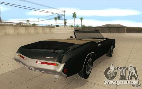 Buick Riviera GS 1969 for GTA San Andreas side view