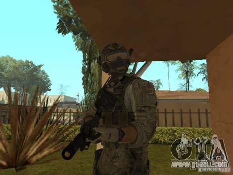 M4A1 with ACOG from CoD MW3 for GTA San Andreas third screenshot