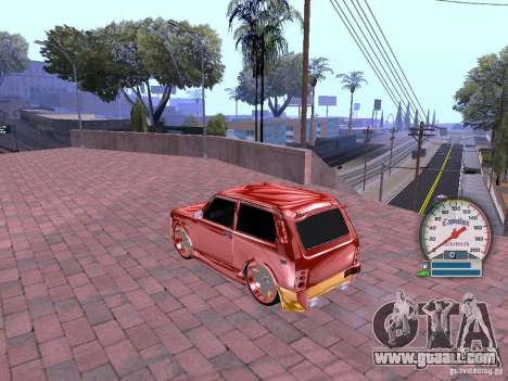 VAZ 21213 for GTA San Andreas back view