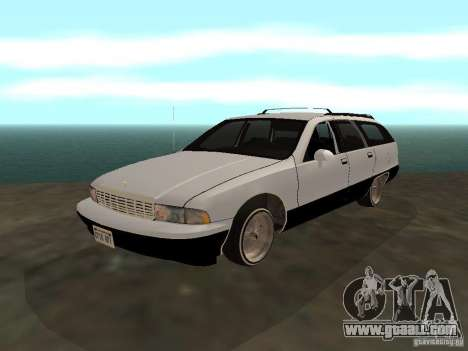 Chevrolet Caprice Wagon 1992 for GTA San Andreas