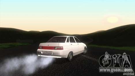 Vaz 2110 Drain for GTA San Andreas back left view