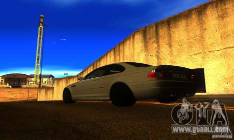 BMW M3 E46 TUNEABLE for GTA San Andreas left view