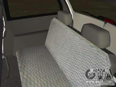 Dodge Grand Caravan for GTA Vice City inner view