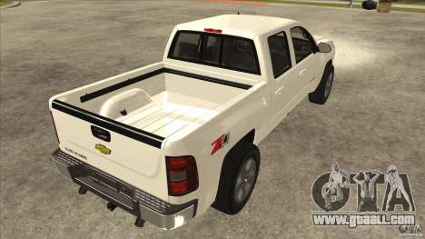 Chevrolet Cheyenne 2011 for GTA San Andreas right view