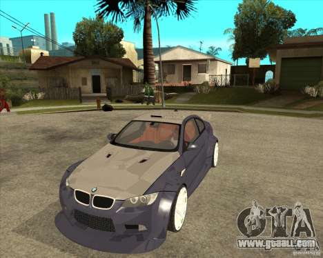 BMW M3 E92 TUNED for GTA San Andreas
