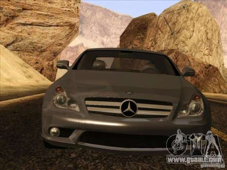 Mercedes-Benz CLS63 AMG for GTA San Andreas back left view