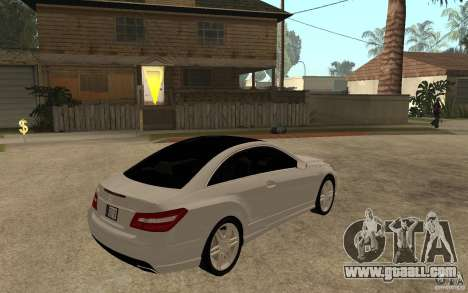 Mercedes Benz E-CLASS Coupe for GTA San Andreas right view