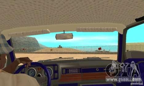 VAZ 2105 Night Hunter for GTA San Andreas right view
