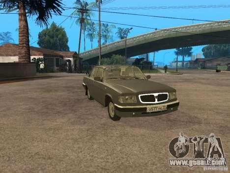 GAZ 3110 v 2 for GTA San Andreas