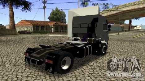 KAMAZ 5460 Euro 3420 Turbo for GTA San Andreas right view