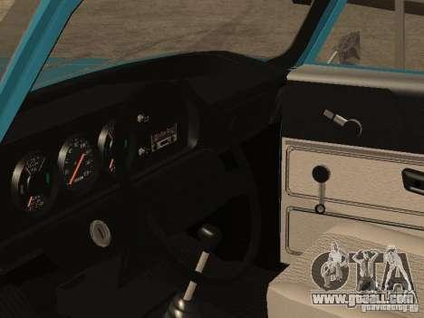 AZLK 2140 v2 for GTA San Andreas back view