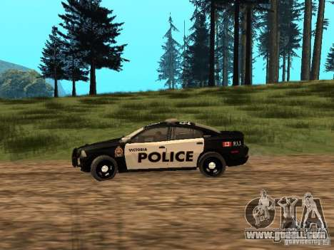 Dodge Charger Canadian Victoria Police 2011 for GTA San Andreas left view
