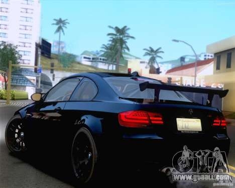 BMW M3 GT-S 2011 for GTA San Andreas side view