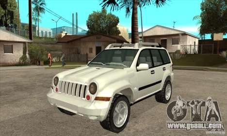 Jeep Liberty 2007 for GTA San Andreas