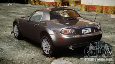 Mazda MX-5 for GTA 4 side view