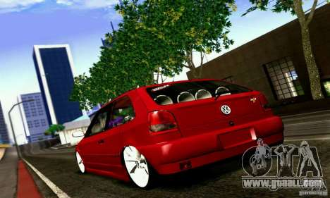 Volkswagen GOL G2 Tuning for GTA San Andreas left view