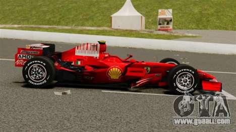 Ferrari F2008 for GTA 4 left view