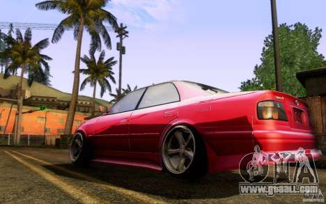 Toyota Chaser JZX100 for GTA San Andreas right view