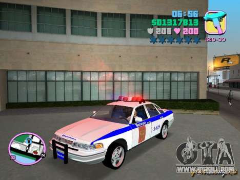 Ford Police for GTA Vice City