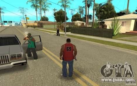 Grove Street Skin Pack for GTA San Andreas ninth screenshot