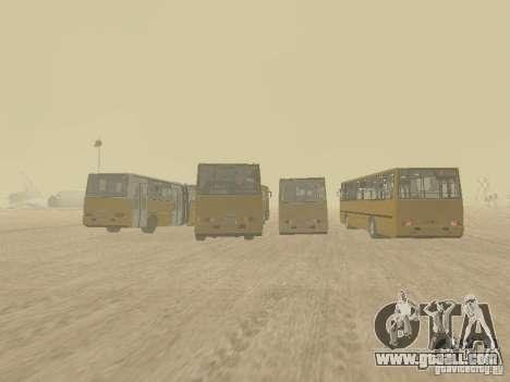 Trailer Ikarusu 280.33 for GTA San Andreas right view