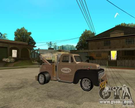 1951 Ford Wrecker for GTA San Andreas right view