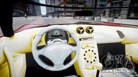 Koenigsegg CCRT for GTA 4 back view