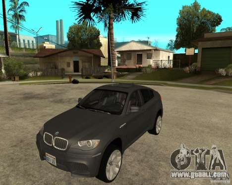 BMW X6 M for GTA San Andreas