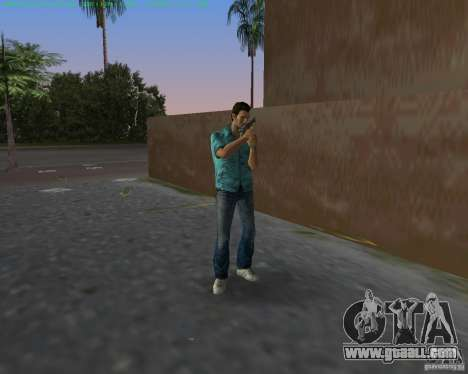 USP-45 in a desert dying of for GTA Vice City second screenshot
