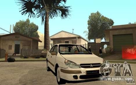 Citroen C5 HDI for GTA San Andreas back view