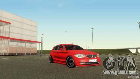 BMW 120i for GTA San Andreas right view