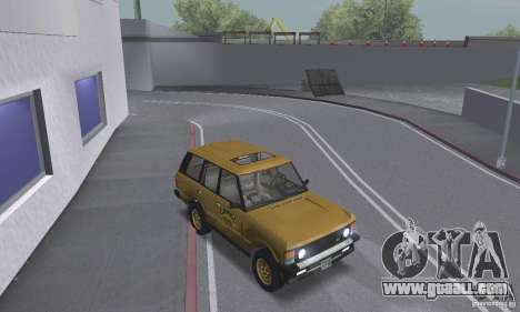Range Rover County Classic 1990 for GTA San Andreas side view