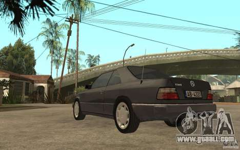 Mercedes-Benz 320CE C124 for GTA San Andreas back left view