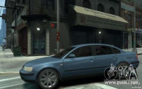 Volkswagen Passat B5 Final for GTA 4 left view