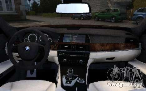 BMW 760Li 2011 for GTA 4 interior