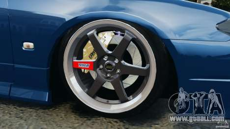 Nissan Silvia S15 JDM for GTA 4 bottom view