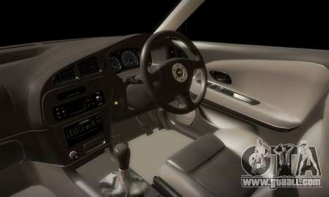 Mitsubishi Lancer Evolution 6 for GTA San Andreas side view